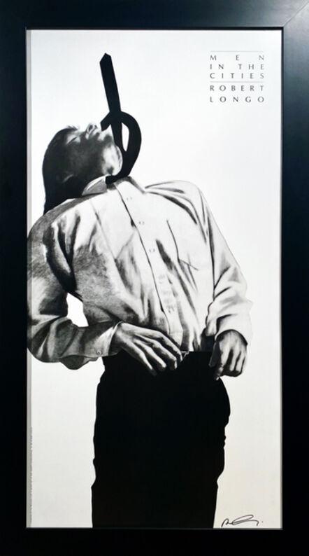 Robert Longo, 'Eric from Men In the Cities', 1991