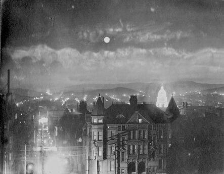 Willard Worden, 'San Francisco at Night – City Hall Illuminated', 1903