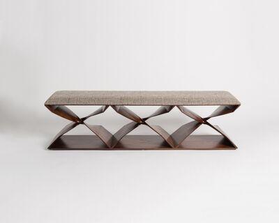 Carol Egan, 'Sculptural Hand-Carved Bench', 2013