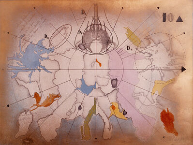 Margarita Paksa, 'Polo sur. Serie Dibujos Rorschach', 1983