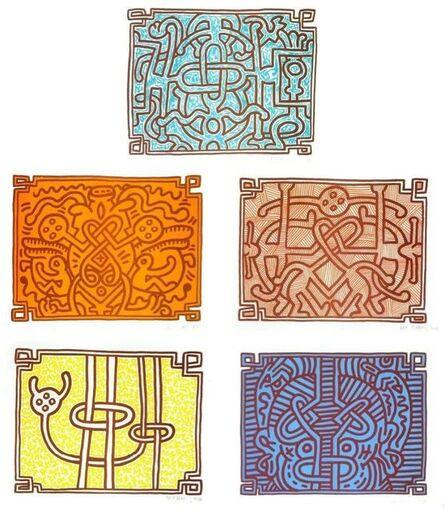 Keith Haring, 'Chocolate Buddha', 1989