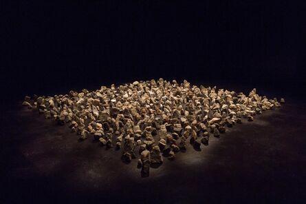 Rolf Julius, 'Large Stonegarden (monochrome) ', 2010