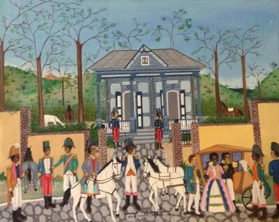 Jean-Baptiste Jean, 'A Letter to Toussaint Louverture', 1980