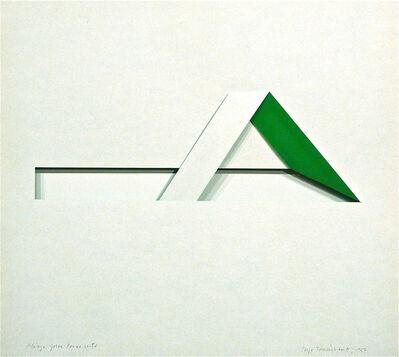 Serge Tousignant, 'Pliage pour pince verte', 1967