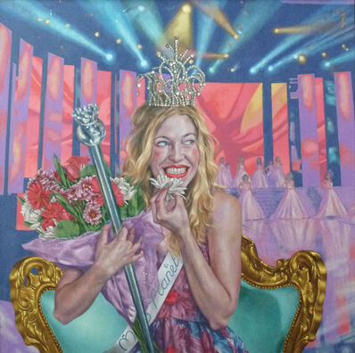 Roxana Halls, 'Laughing While Reigning', 2014