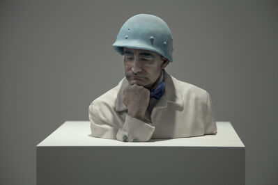Thierry Geoffroy /COLONEL, 'Thoughtful', 2017