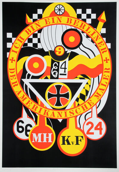 Robert Indiana, 'The Hartley Elegies: The Berlin Series - KvF III', 1990