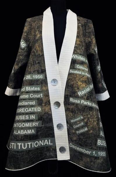 Patricia Montgomery, 'JoAnn Robinson -  Civil Rights Swing Coat Memorial to Women Activists - Contemporary Textile Art', 2014