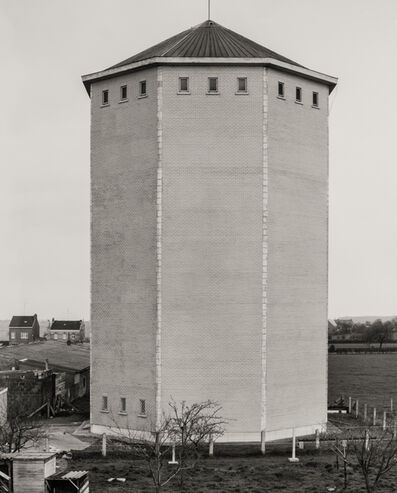 Bernd and Hilla Becher, 'Water Tower [Wasserturm], Herve/Liège, B', 1971 / printed 1995