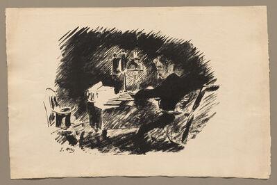 Édouard Manet, 'Under the Lamp', 1875