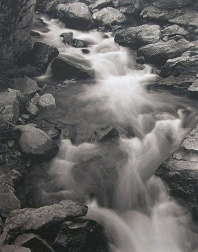 George Tice, 'Roaring Fork River, Aspen, CO', 1969