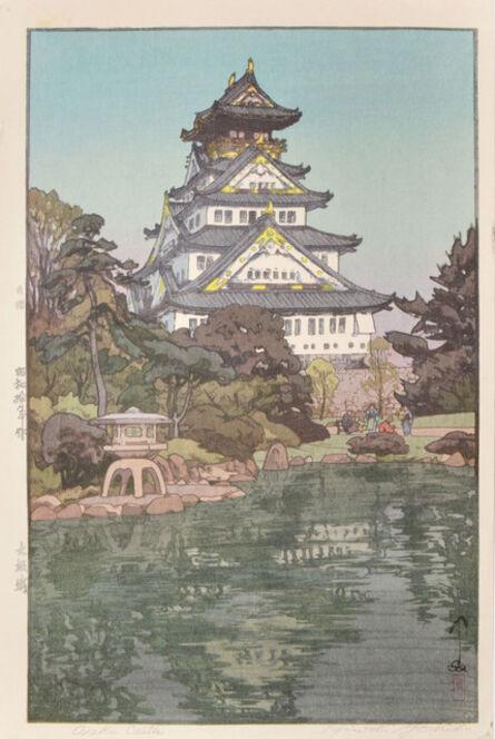 Yoshida Hiroshi, 'Osaka Castle', 1935