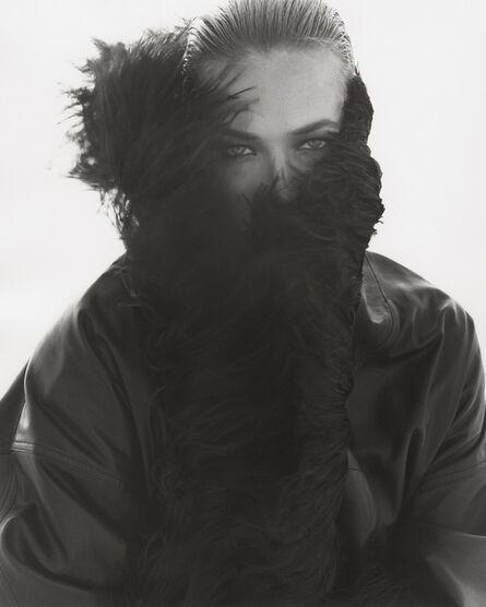 Herb Ritts, 'Tatjana Patitz, Versace 1, El Mirage', 1990