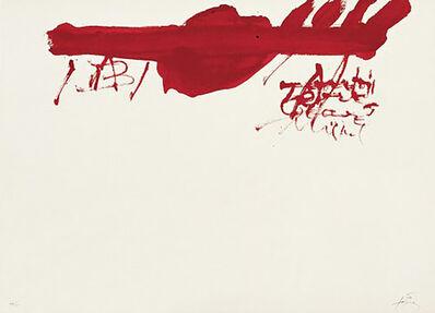 Antoni Tàpies, 'Clau-13', 1973