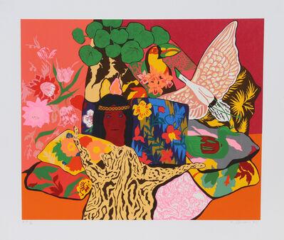 Hunt Slonem, 'Pillow Jungle', 1980