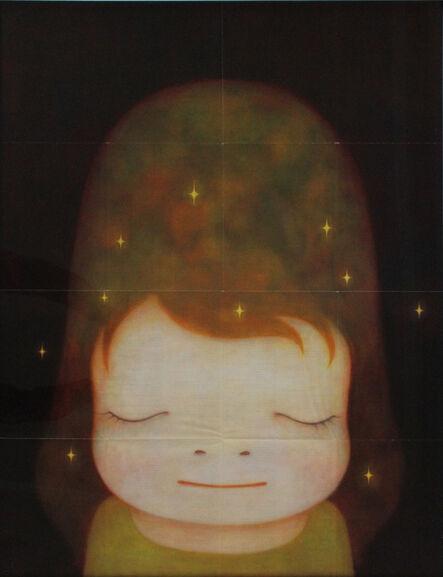 Yoshitomo Nara, 'Little Star Dweller (Large vintage fold-out poster)', 2007