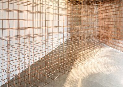 Jinnie Seo, 'Installation view of Perchance, Copper Glance; Interval ; and Detour, Contour', 2020