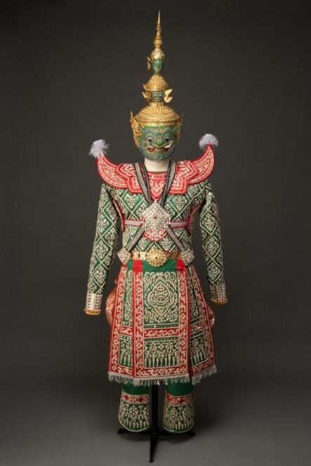 'Mask and costume for Tosakanth, Thai name for Ravana', 2005