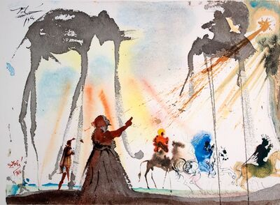 Salvador Dalí, 'They Will All Come From Saba', 1964-1967