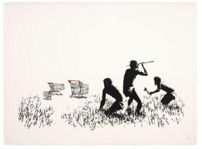 Banksy, 'Trolleys', 2006