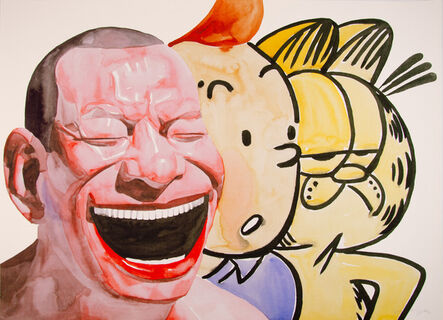 Yue Minjun, 'Untitled (Smile-ism No. 16)', 2006