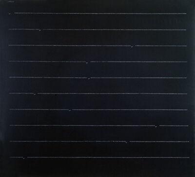 Carlo Alfano, 'Frammenti di un autoritratto anonimo n. 31', 1972
