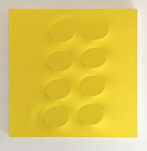 Turi Simeti, '8 ovali gialli', 2019