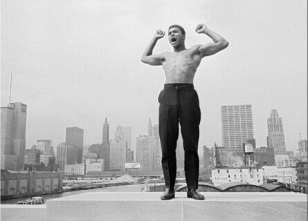Thomas Hoepker, 'Muhammad Ali on the bridge over Chicago', 1966