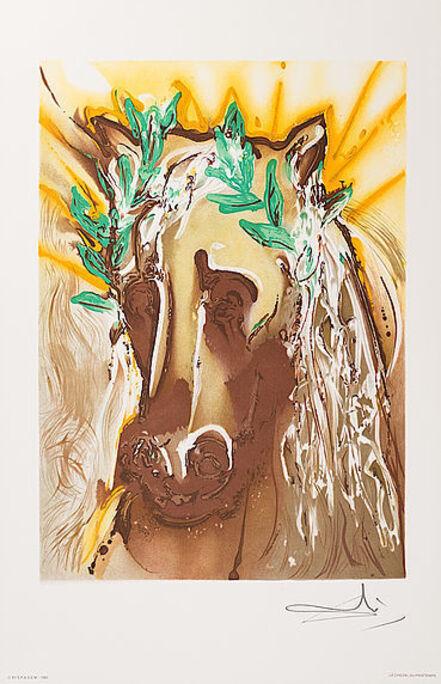 Salvador Dalí, 'Le Cheval De Printemps', 1983