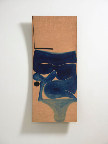 Victor Pasmore, 'Blue Development (Indigo)', 1969