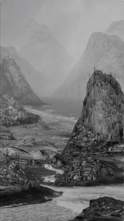 Yang Yongliang 杨泳梁, '轨迹 The Traces', 2018