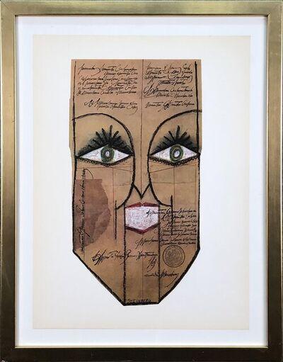 Saul Steinberg, 'Mask', 1966