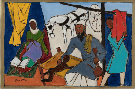 Maqbool Fida Husain, 'Untitled (Grandfather)', 2000