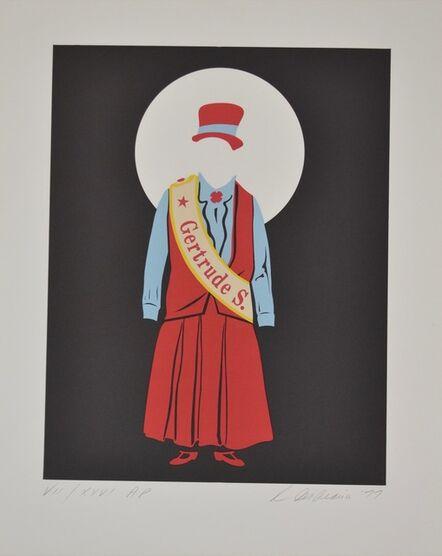 Robert Indiana, 'Gertrude Stein - Mother of us all portfolio', 1977