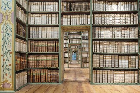 Reinhard Gorner, 'Saint Peter's Abbey library', 2016