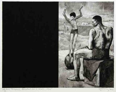 Robert Longo, 'Untitled (After Picasso, Acrobat on a Ball, 1905)', 2016