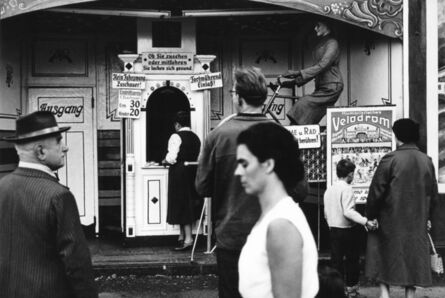 Herbert List, 'Velodrome at the Oktoberfest. Munich, Germany.', 1956