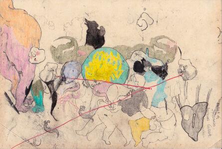 Cat Roissetter, 'Nursery Figurines II', 2017