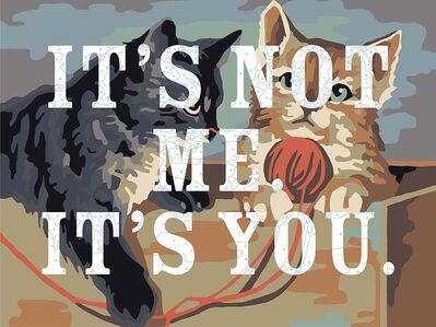 Trey Speegle, 'It's Not Me. It's You.', 2019