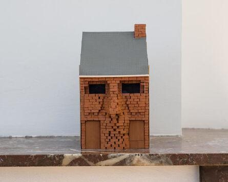 Adrien Tirtiaux, 'Autoportrait en maison mitoyenne', 2016