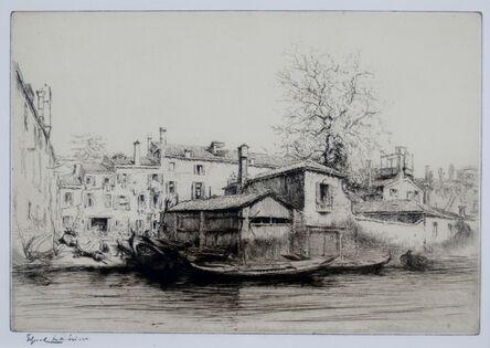 Edgar Chahine, 'San Travaso, Venice', ca. 1920