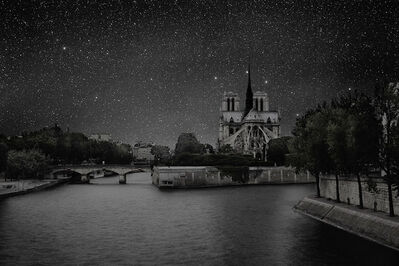 Thierry Cohen, 'Paris 48° 51' 03'' N 2012-07-19 lst 19:46', 2012