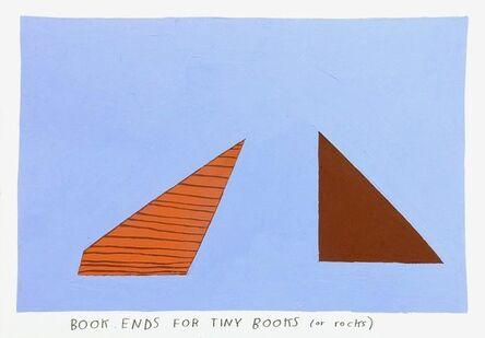 Kristin Texeira, 'book ends', 2017