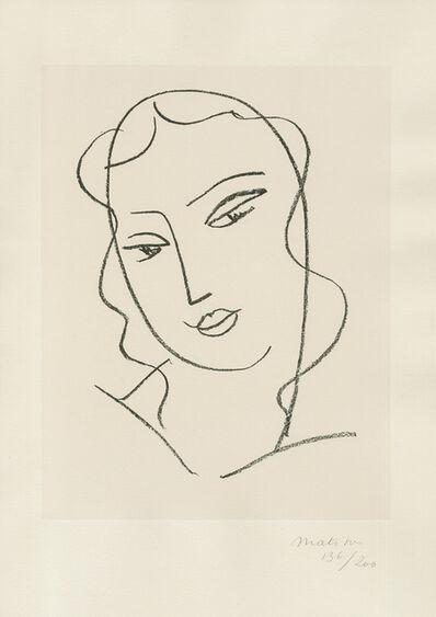 Henri Matisse, 'Etude pour la Vierge - Tête voilée', 1950