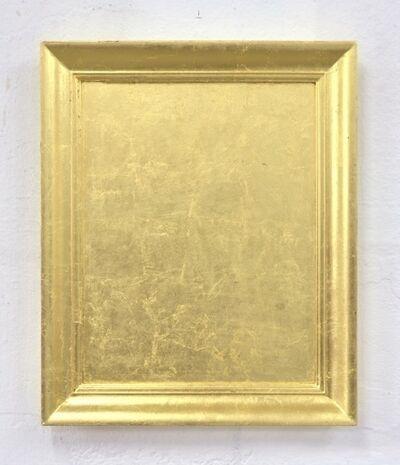 Jürgen Drescher, 'Found frame gold leaf covered', 2012