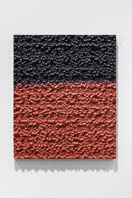 Johannes Wohnseifer, 'Aluminium Painting (black_red)', 2021