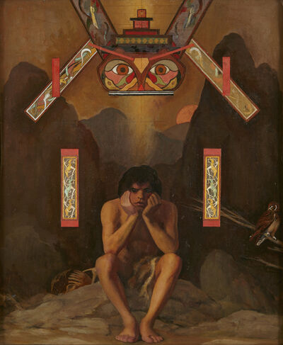 R. H. Ives Gammell, 'Figure with Totem', ca. 1980