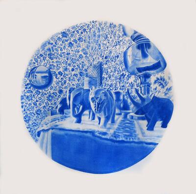 Kristina Bength, 'Cobalt; Ferromagnetic, Hexagonal, Close-Packed #9'