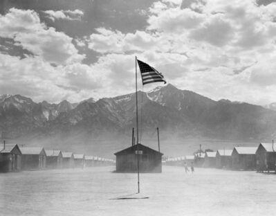 Dorothea Lange, 'Dust Storm, Manzanar', 1942