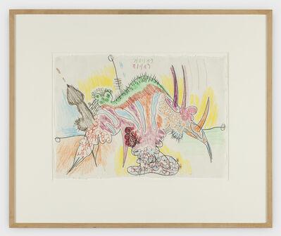 Carroll Dunham, 'Untitled (7/31-8/1/89)', 1989